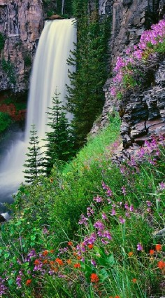 Tumalo Falls in Deschutes National Forest near Bend, Oregon • Mike Putnam Photography