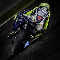 #valentinorossi Qatar test,Doha Losail circuit,night 2 Shot by Gigi Soldano — in Qatar