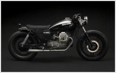 "Venier Customs '87 Moto Guzzi V35 C - ""Diabola"""