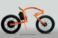 World's smallest electric concept bike by Santhosh -