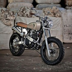 xr600 honda cafe tracker