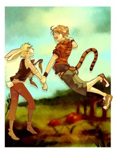 Adorable USUK/Winnie the Pooh crossover ♥ ^^