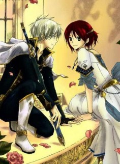Akagami no Shirayuki-hime - Zen and Shirayuki