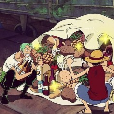 all I want for Christmas is meat, grog, and every single member of luffy's crew. Am I right?