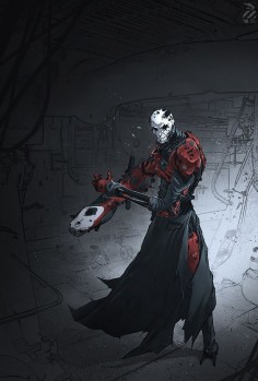 ArtStation - When the man , Nivanh Chanthara