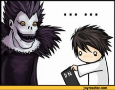 Best Death Note GIF EVER