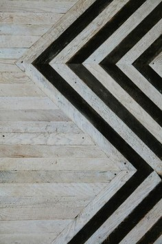 chevron floor pattern ♥