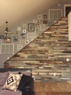 future home idea ♥ relcaimed barnwood wall paneling