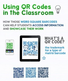 How simple and USEFUL QR codes can be in the classroom