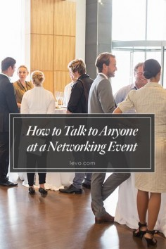 How to start, hold, and end a conversation in a room full of strangers without (hopefully) making a fool of yourself! #networking