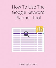 How to use the Google Keyword Planner Tool // What's the difference between a keyword and a long-tail keyword? Learn how to find the right keyword, and why you should be using long tail keywords on your blog or website for great search engine optimization.