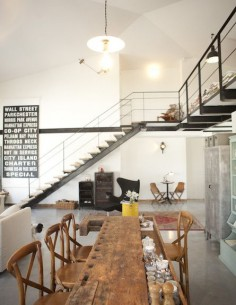 Interior design | decoration | Industrial vintage loft