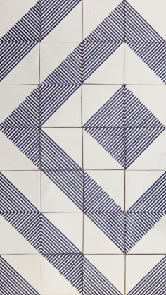 LINO tiles | design by davidpompa | Uriarte Talavera tiles | handpainted | handmade in México