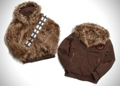 Reversible Chewbacca/Han Solo Jacket.