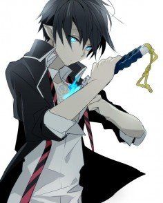 Rin from Blue Exorcist