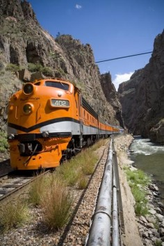 Royal Gorge Train  Just a few miles from us. I want to ride this one.