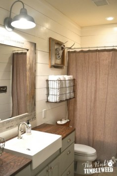 Built in cabinets and shelving in a large alcove featuring for Bathroom seen photos