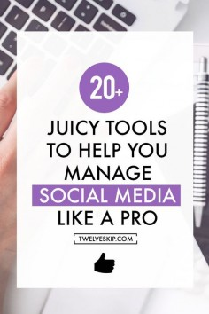 Social Media Management Tools To Increase Productivity and Boost Your Business Growth - great advice for social enterprise, nonprofits, small businesses!