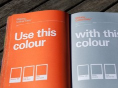 STIHL - Making It Easy Brand Guidelines by Steven Arnold, via Behance. Love the swatch conversions!