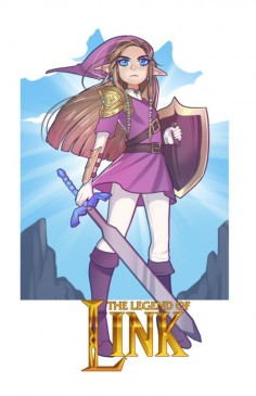 The Legend of  with the Heroic Zelda
