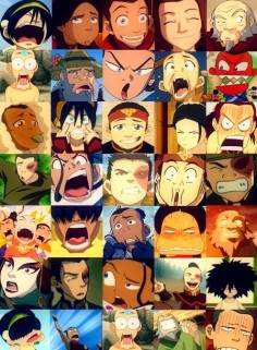 The many faces of Avatar. xD