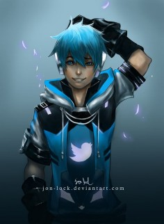 Twitter by Jon-Lock on deviantART