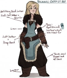 Valkeri, a skyrim oc made by the-orator on tumblr.