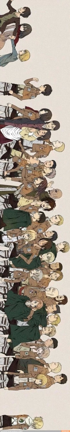 Why 'da hell is Armin back there with Annie?! No way is he being shipped with her! Armin is way to cute for her with her long nose! She killed so many people and should be dead. She is a DEMON!