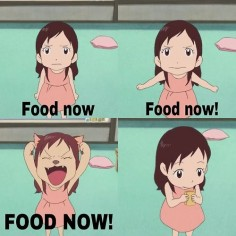 wolf children FOOD NOW!!!