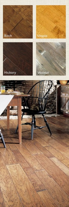 For cottage style with plenty of charm consider the ocean for Solid wood flooring deals