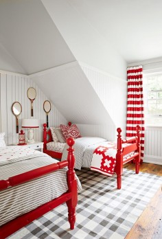 twin bedroom | Sarah Richardson's Coastal Cottage